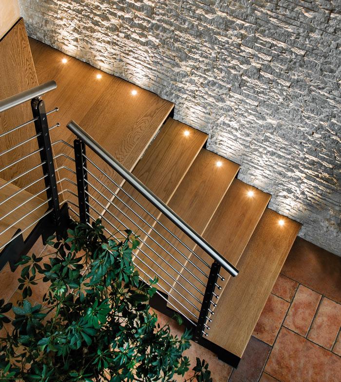 Catalogo LED, foto in location - Faretto wallwasher da incasso interno