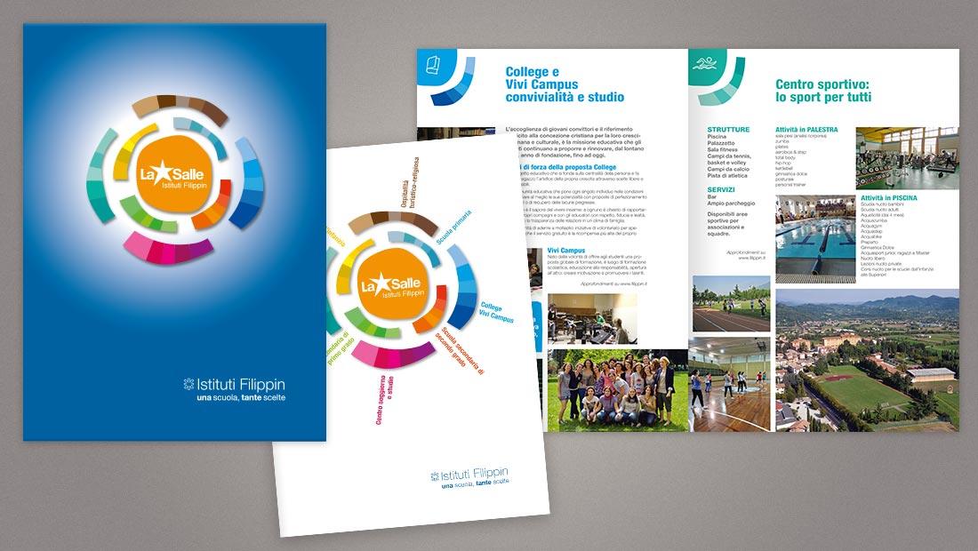 Simbolo, payoff, cartellina e brochure istituzionale