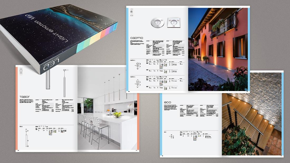 Catalogo illuminotecnico LED Luce e Dintorni