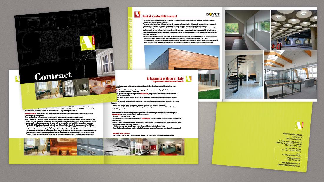 Abitare in Italia - Brochure contract