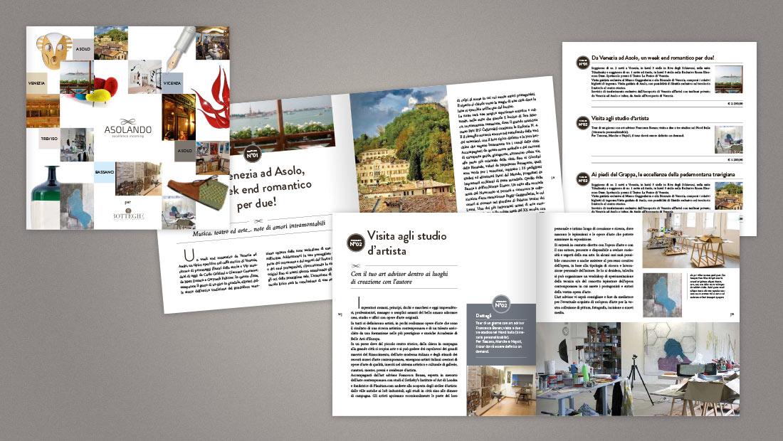 Brochure Asolando, pacchetti turistici Tailor Made
