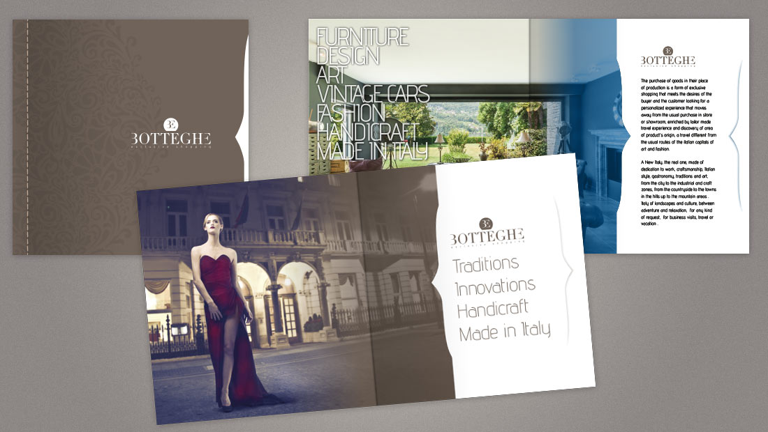Botteghe - Brochure istituzionale