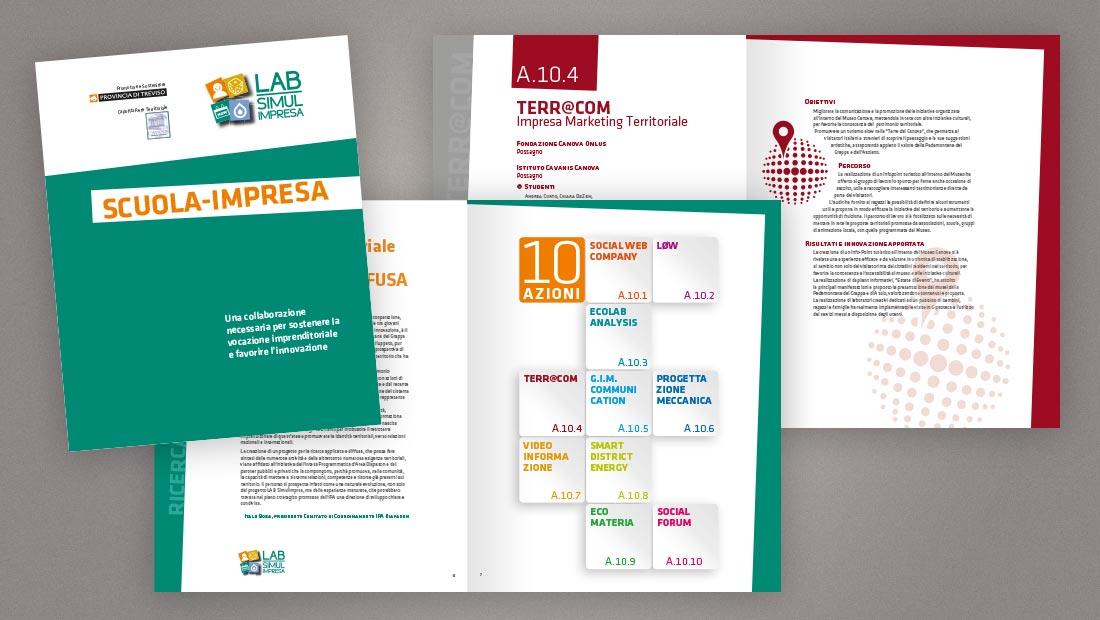LAB Simulimpresa: brochure